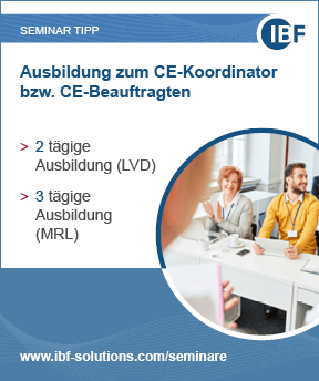 Ausbildung zum CE-Koordinator bzw. CE-Beauftragten