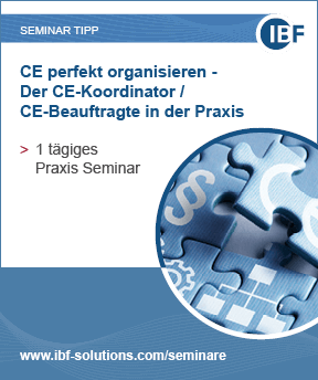 CE perfekt organisieren - Der CE-Koordinator/ CE-Beauftragte in der Praxis