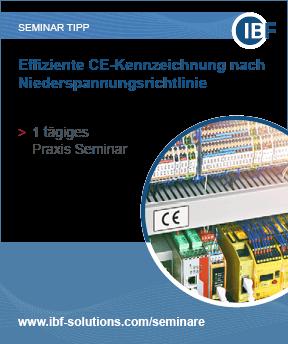 Effiziente CE-Kennzeichnung nach Niederspannungsrichtlinie
