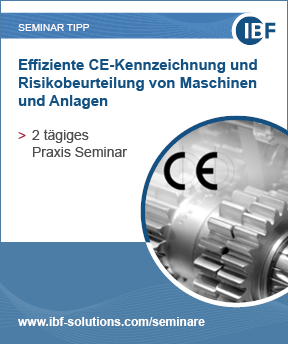 Effiziente CE-Kennzeichnung und Risikobeurteilung von Maschinen und Anlagen