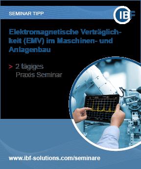 Elektromagnetische Verträglichkeit (EMV) im Maschinen- und Anlagebau