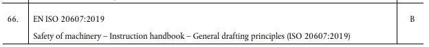 Line 66 of Decision 2020/480 (EU)