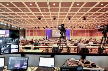 Bild der Übertragung der CE-Praxistage auch per Web
