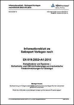 Informationsblatt EN 619