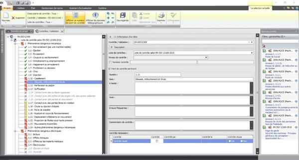 Liste de contrôle selon l'EN ISO 12100:2010 Annexes B