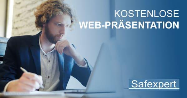Kostenlose Web Präsentation