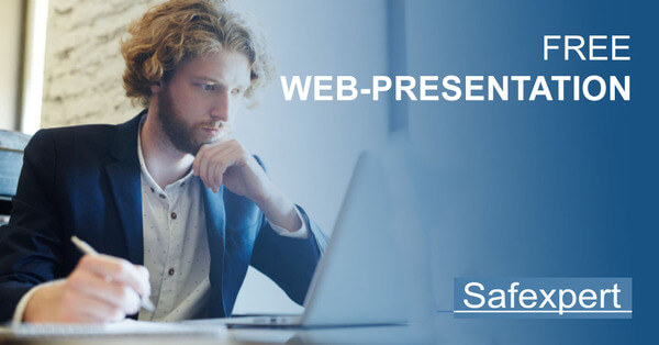 Safexpert Free Web-Presentation  90 minutes